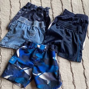 5 pairs of 18 month baby boys shorts, swimsuit